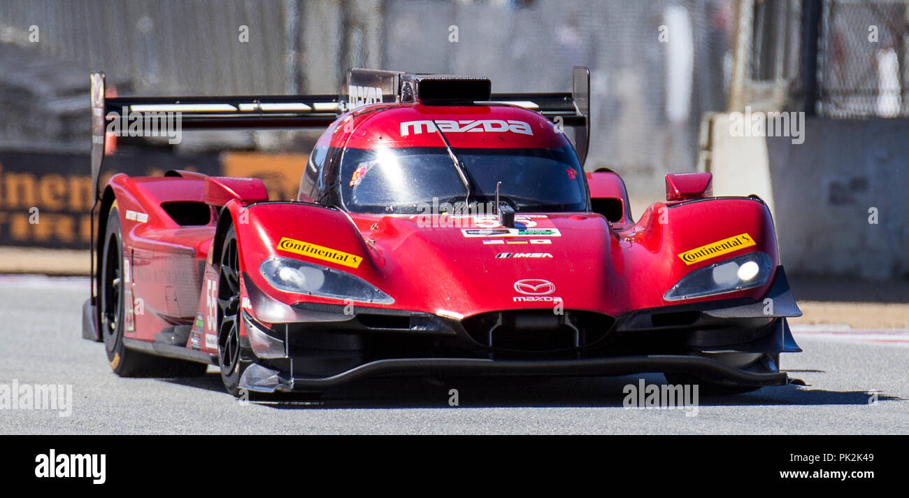 A  Drivers Jonathan Bomarito Harry Tincknell There Best Lap Time  Th Place During The Americans Tire  Race For The Imsa Weathertech
