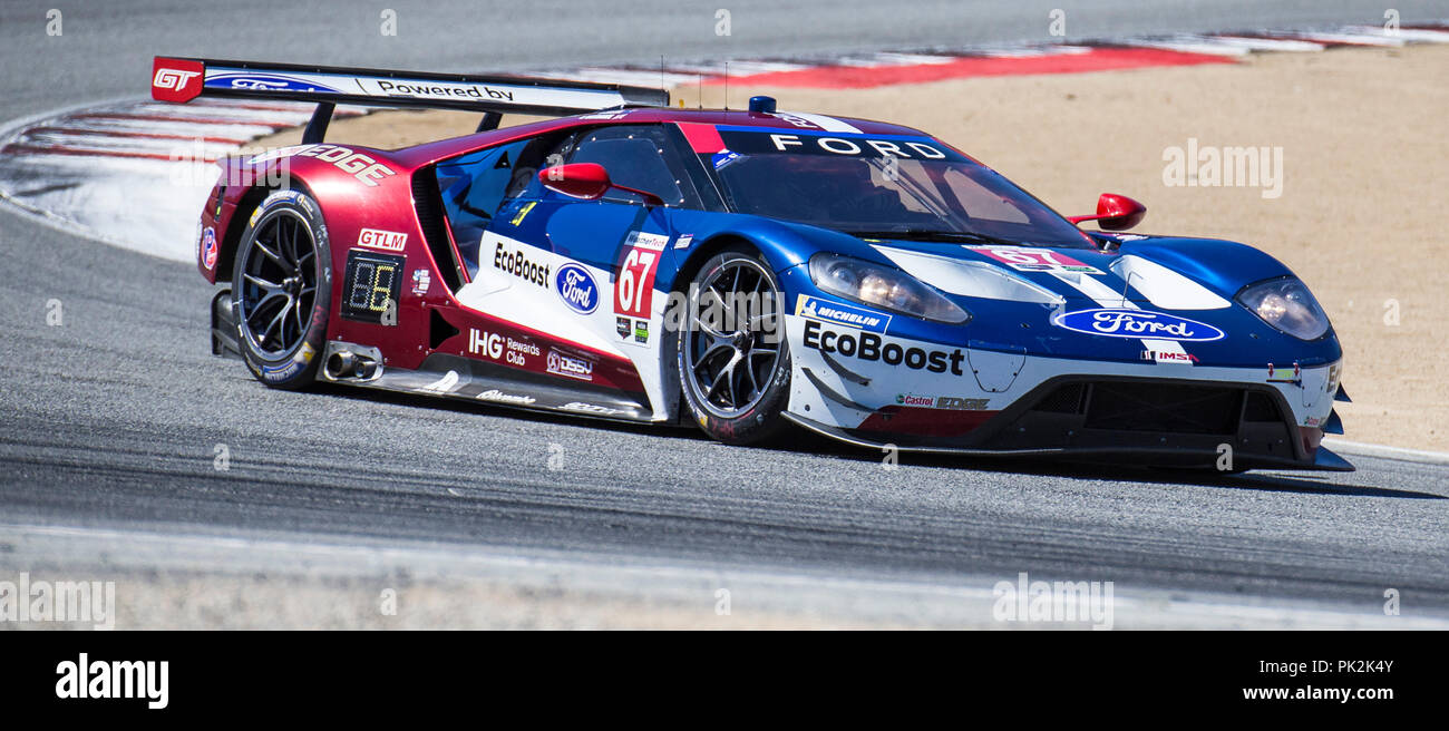 A  Drivers Ryan Briscoe Richard Westbrooks Coming Out Of Turn  Ran A Fast Lap Time Of   During The Americans Tire  Race For
