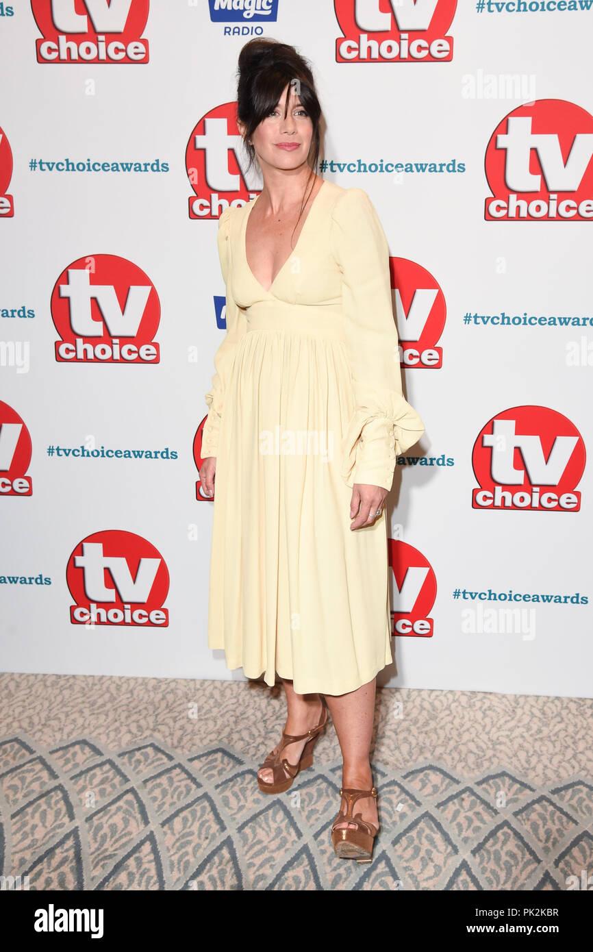 Catherine Catz london, uk. september 10, 2018: caroline catz at the tv