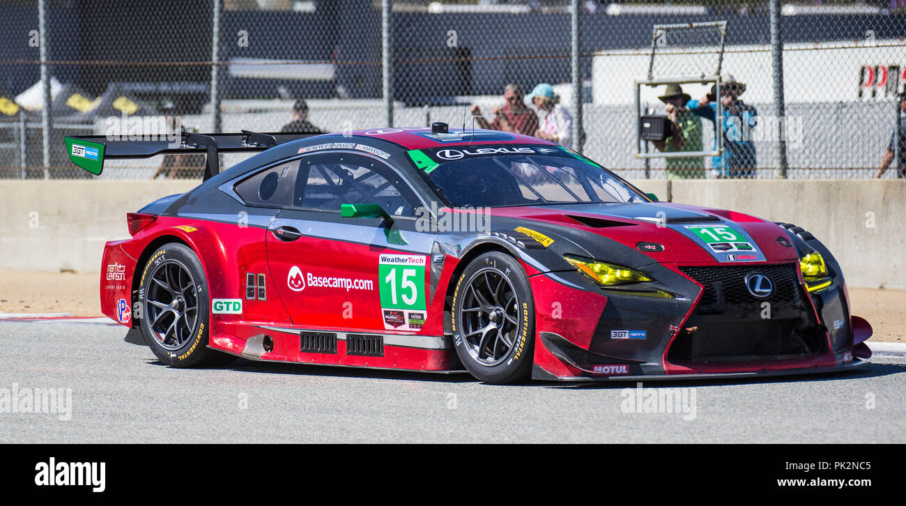 A 15 Drivers Jack Hawksworth David Heinemeier Hansson Coming Out Of Turn 5 During The Americans Tire 250 Race For IMSA Weathertech Sport Car