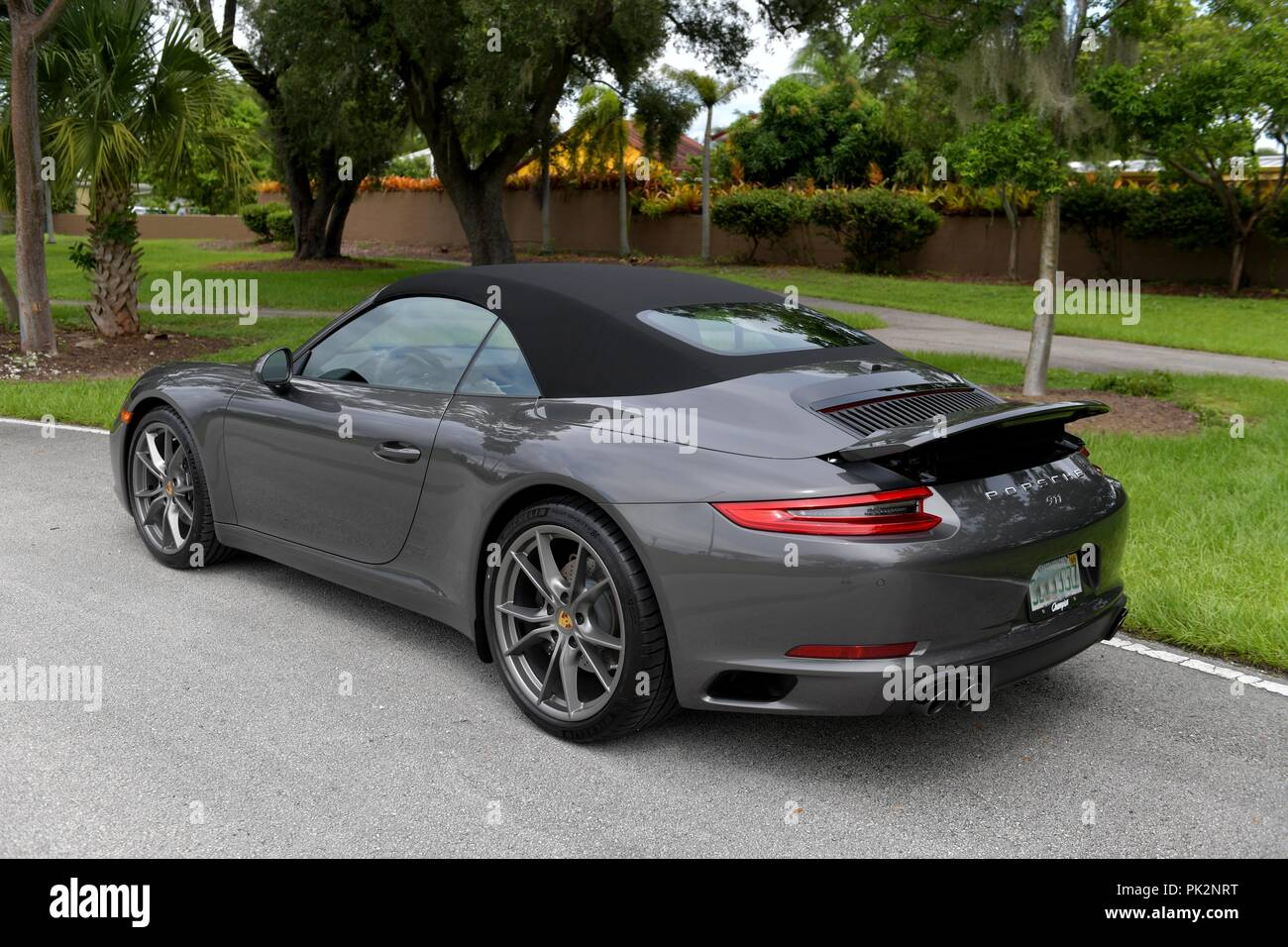 Porsche Dealers South Florida >> Miami Fl September 11 First Pictures Of The Porsche 2019 911