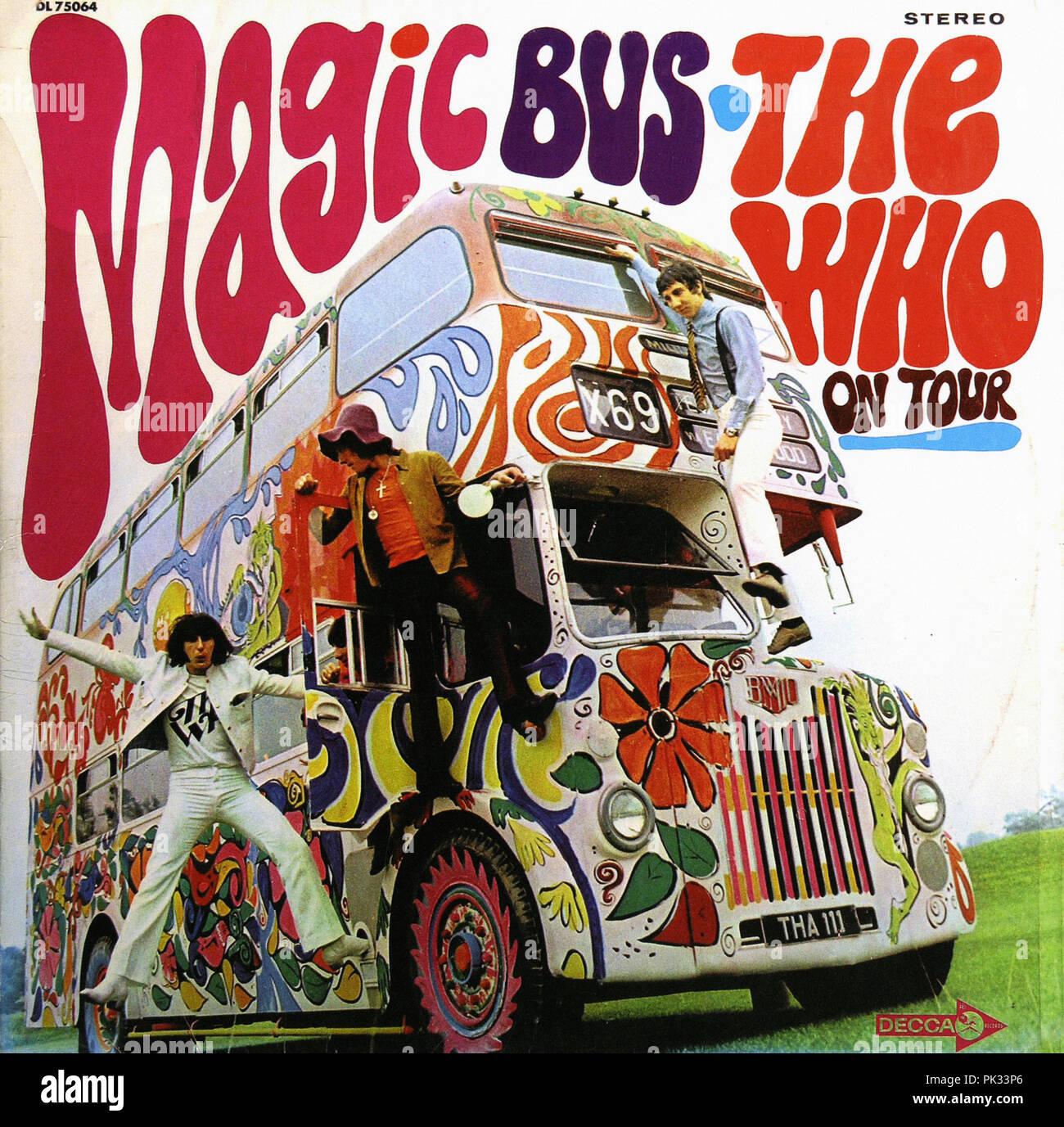vintage vinyl record album - The Who's Magic Bus on Tour - 1967 ...