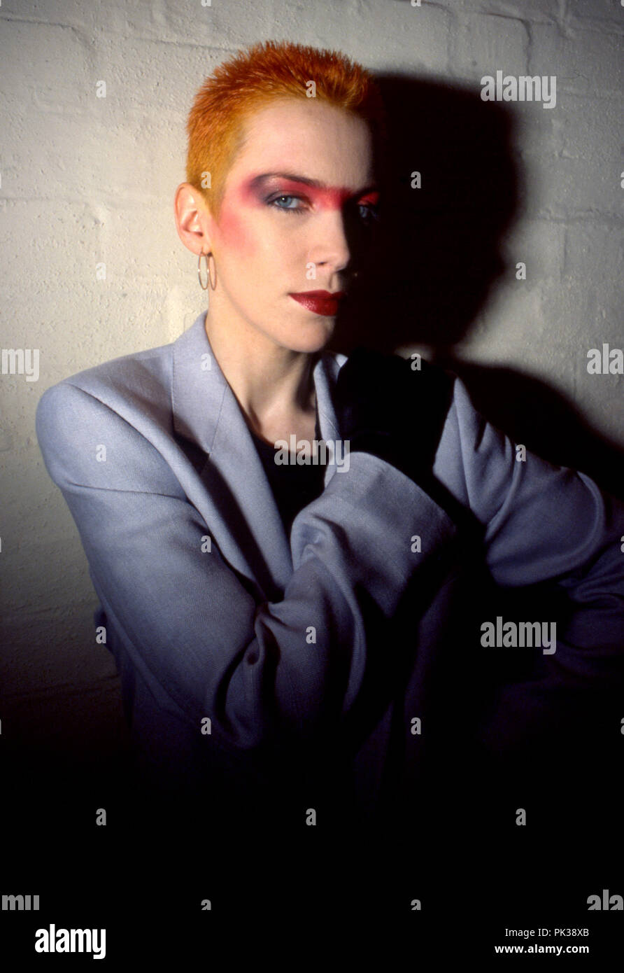 The Eurythmics Annie Lennox Touch POSTER
