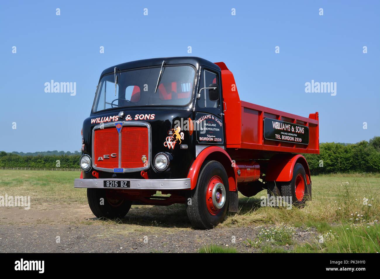 1963 AEC Mercury truck - Stock Image