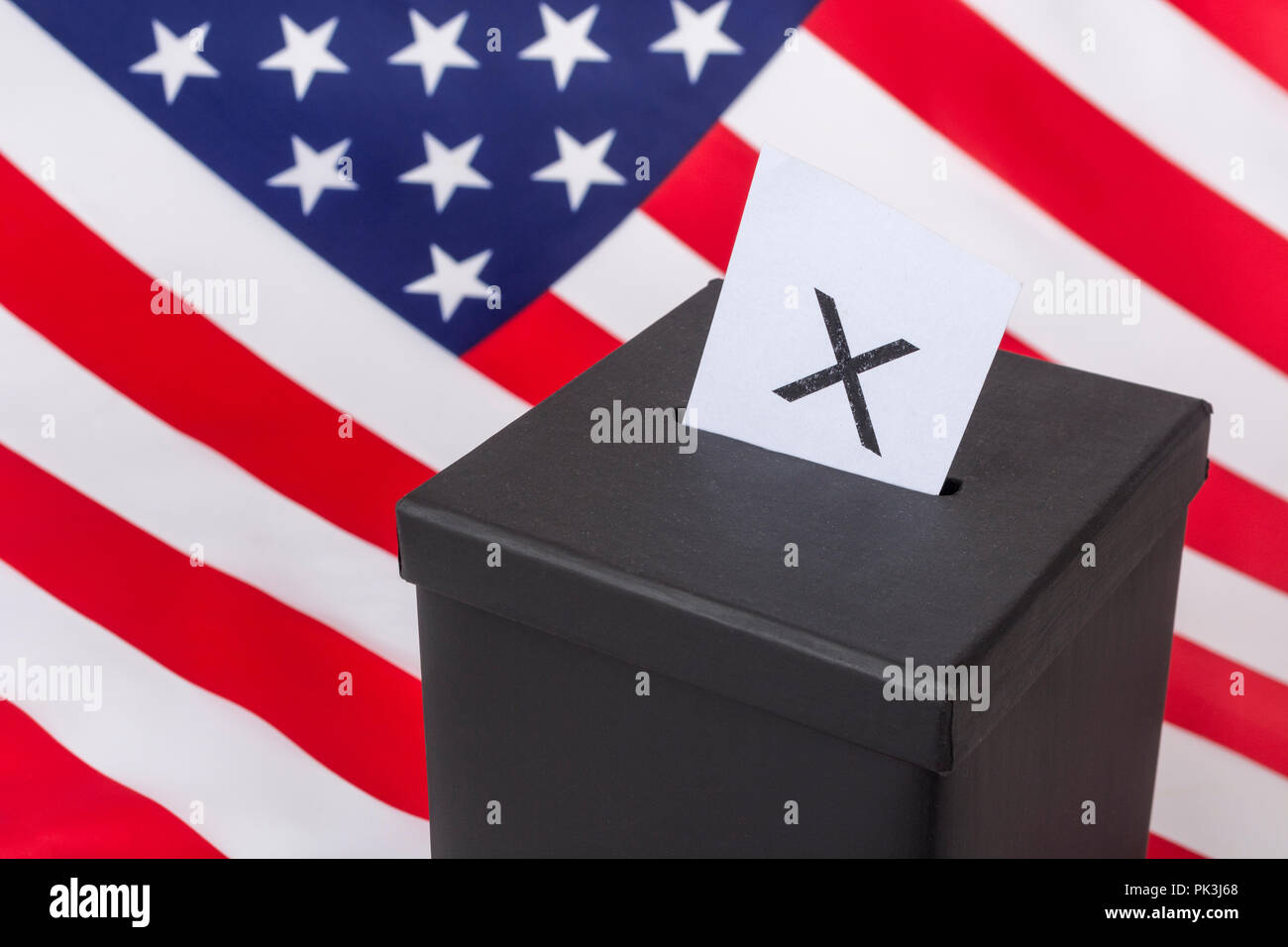2018 US Midterm Election / Midterm elections America in November 2018, 2020 US Elections. Stock Photo