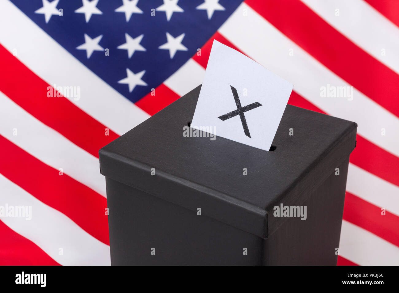 2018 US Midterm Election / Midterm elections America in November 2018, 2020 US Elections. - Stock Image