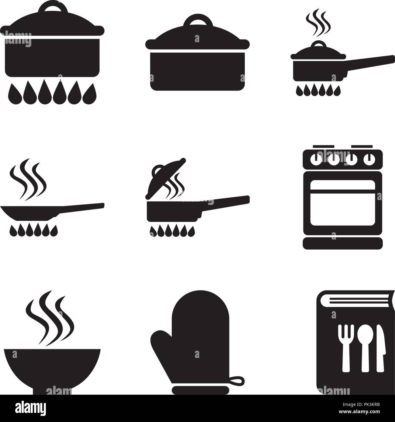 Basic Kitchen Utensils 03 - Stock Vector