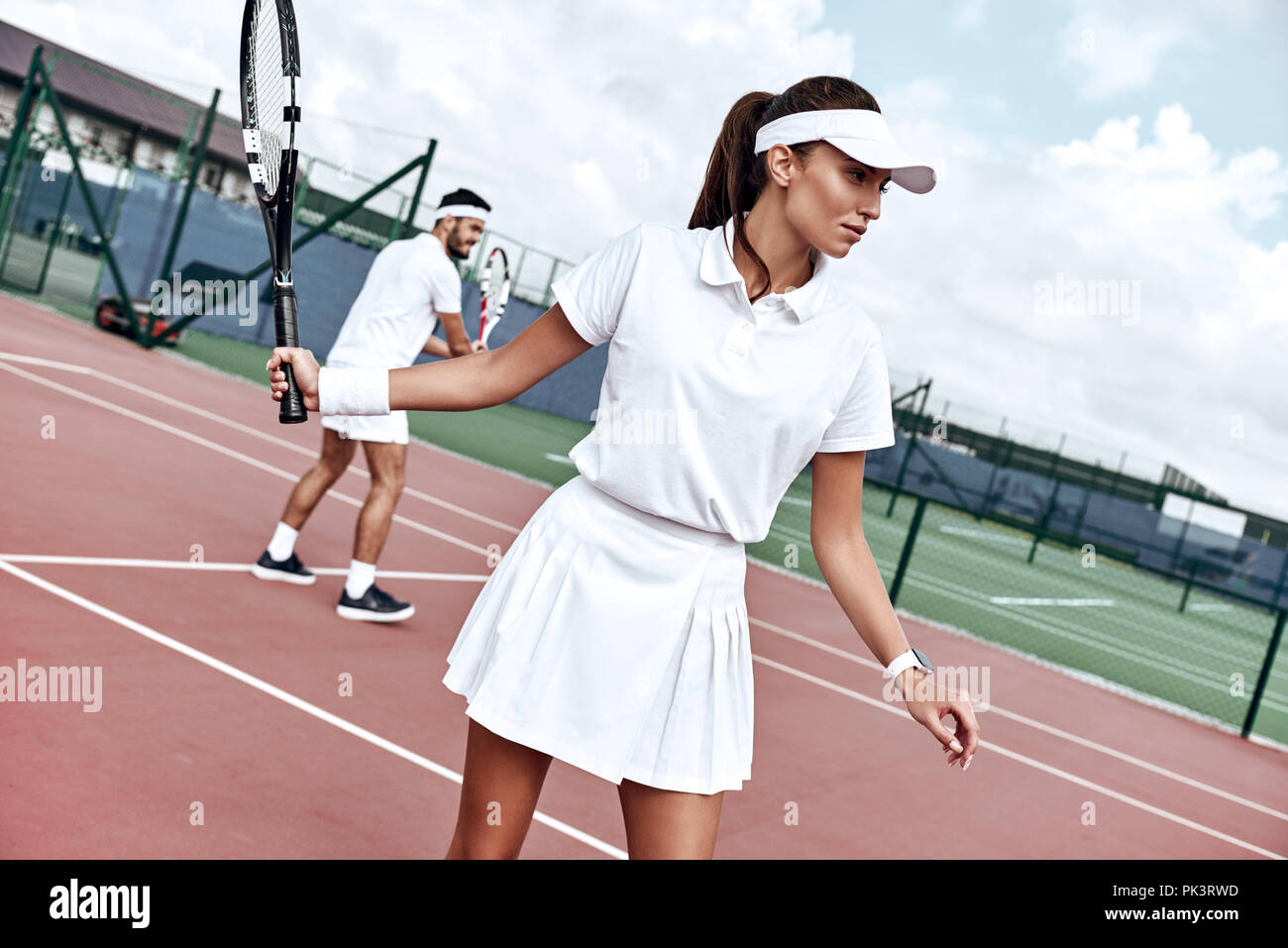 Tennis Outfit High Resolution Stock Photography And Images Alamy