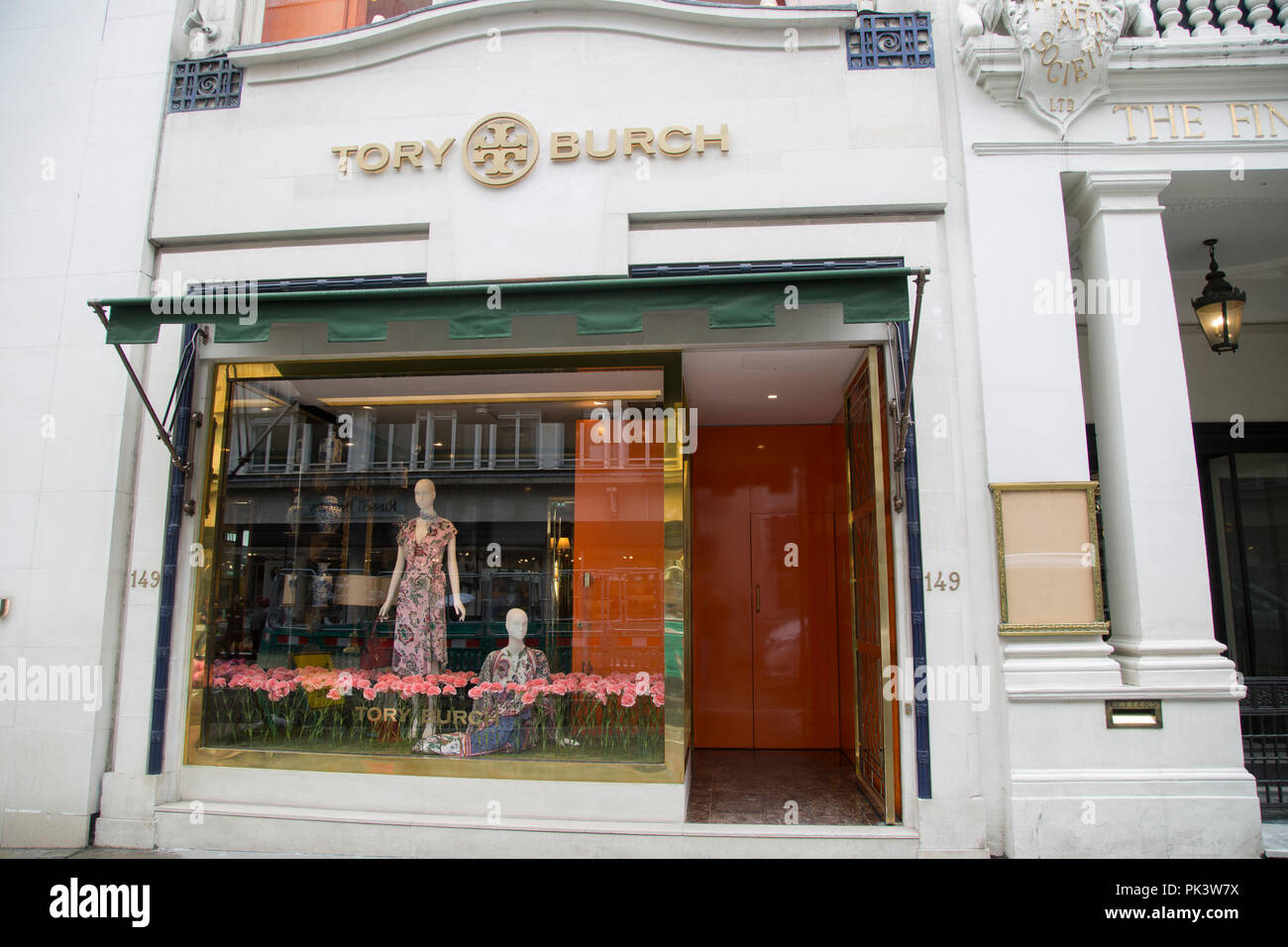 4fdb6f75c3f Tory Burch Store  New Bond Street  London  England  UK Stock Photo ...