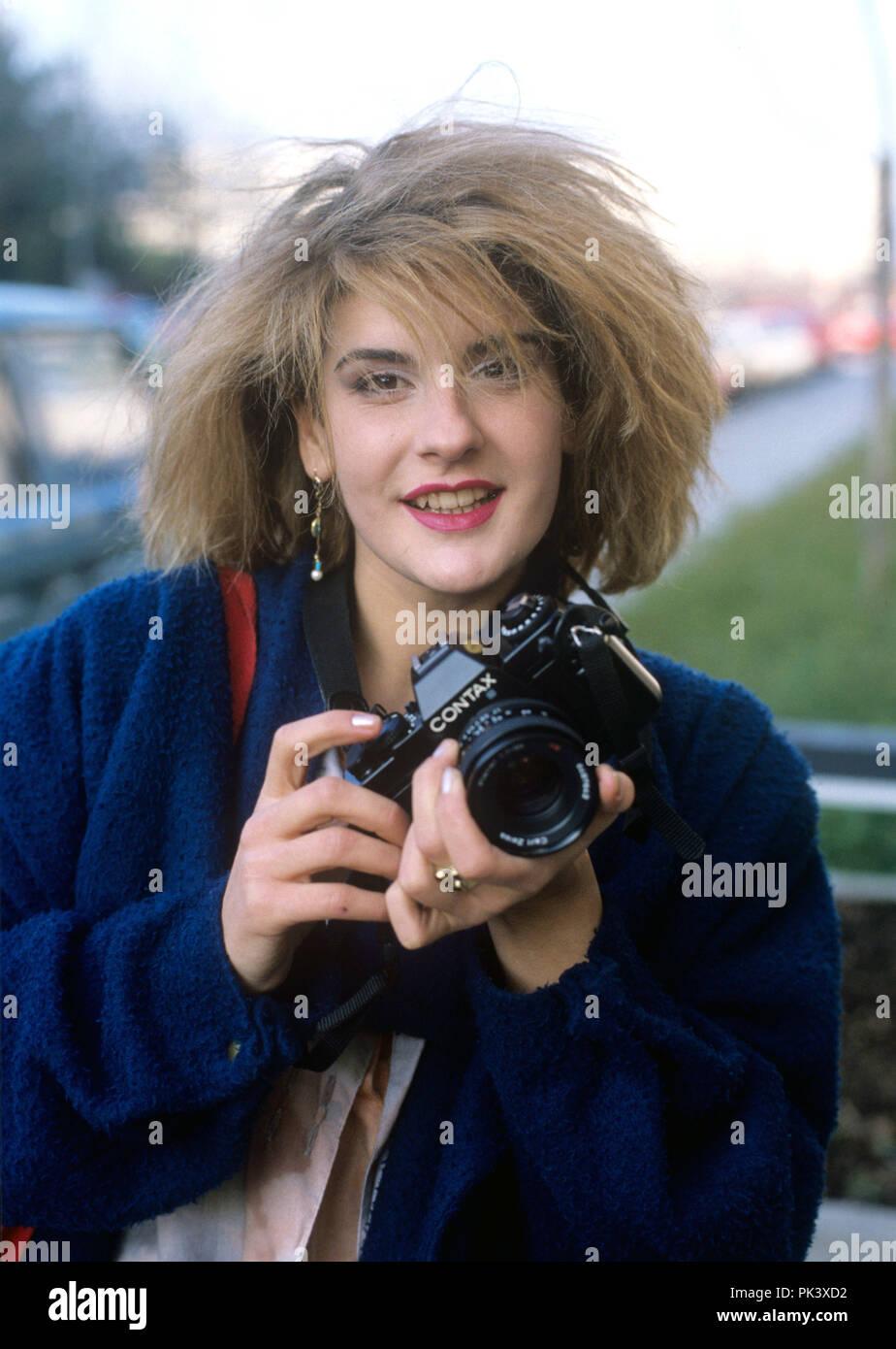Valerie Dore on 12.12.1984 in München / Munich. | usage worldwide Stock Photo