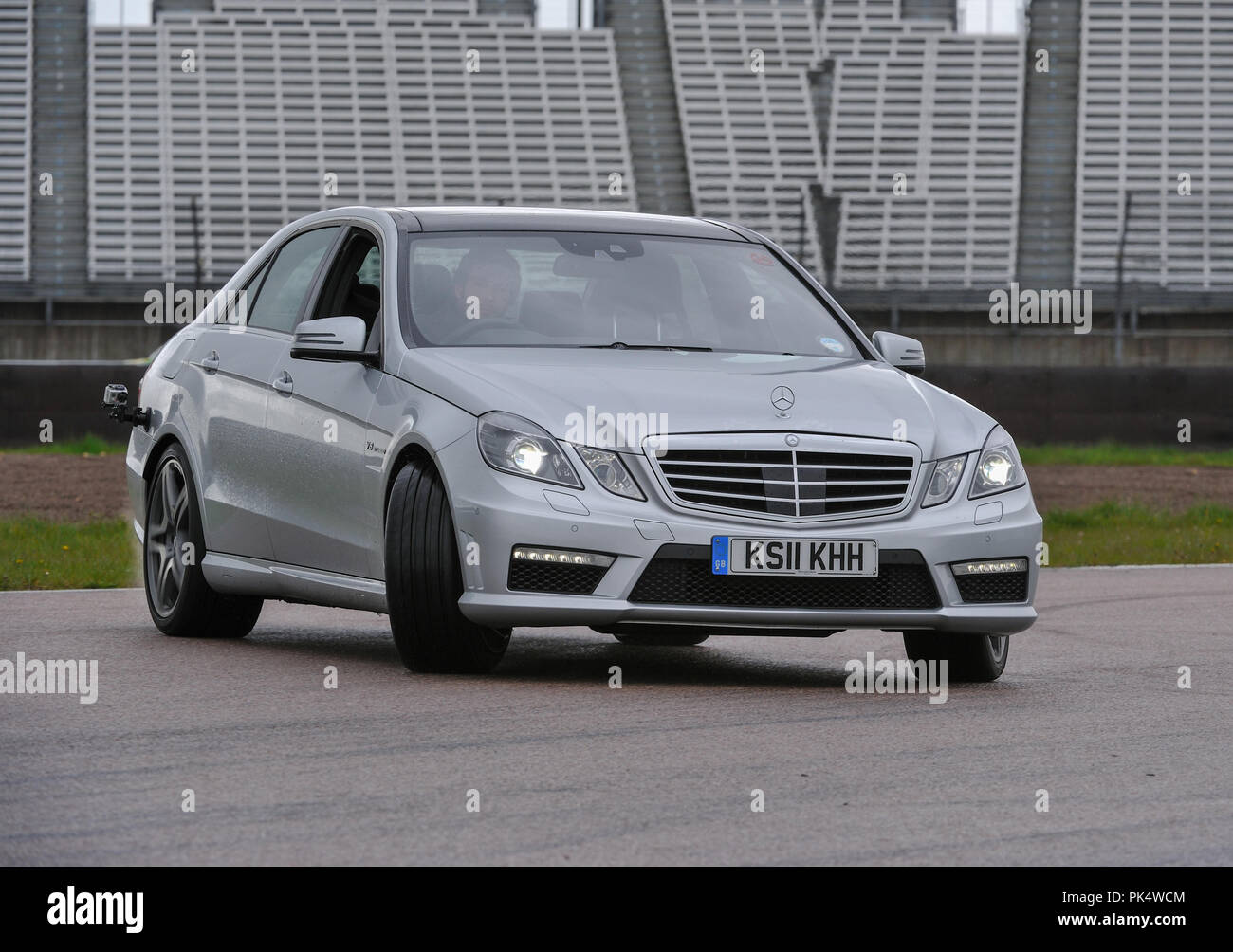 2012 Mercedes E63 AMG W212 E Class super saloon German car Stock