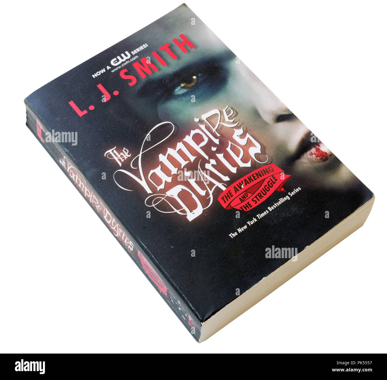 The Awakening and The Struggle, part of The Vampire Diaries by LJ Smith - Stock Image