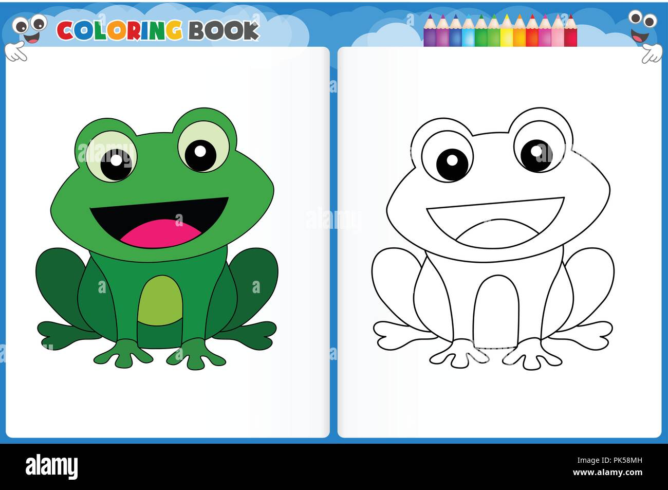 15 frog coloring pages - Print Color Craft | 953x1300