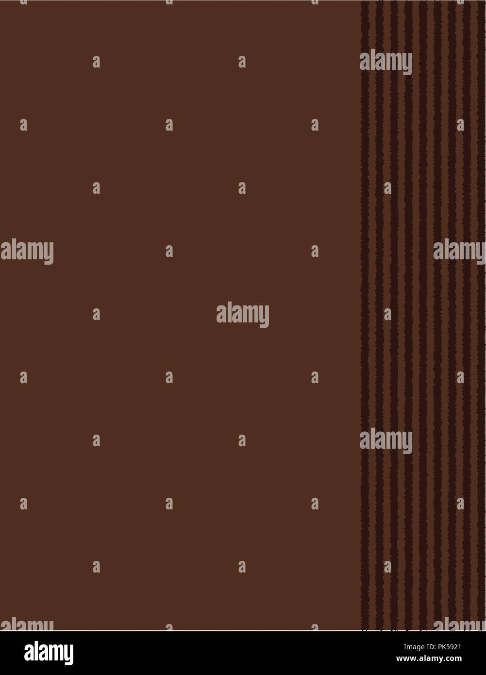Collection of nice doodle frames on dark brown background. specially for scrap booking - Stock Image
