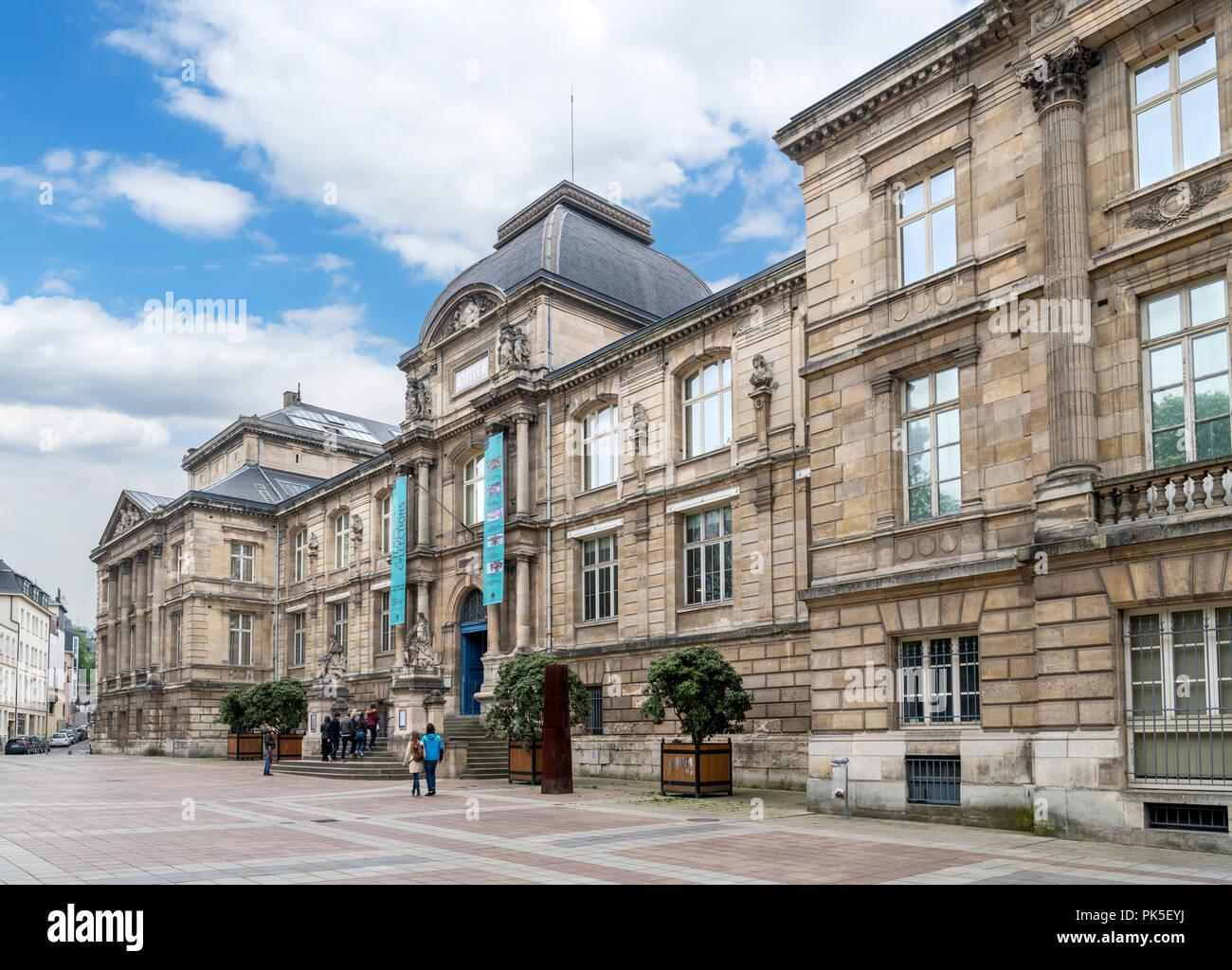 Musée des Beaux-Arts, Rouen, Normandy, France Stock Photo