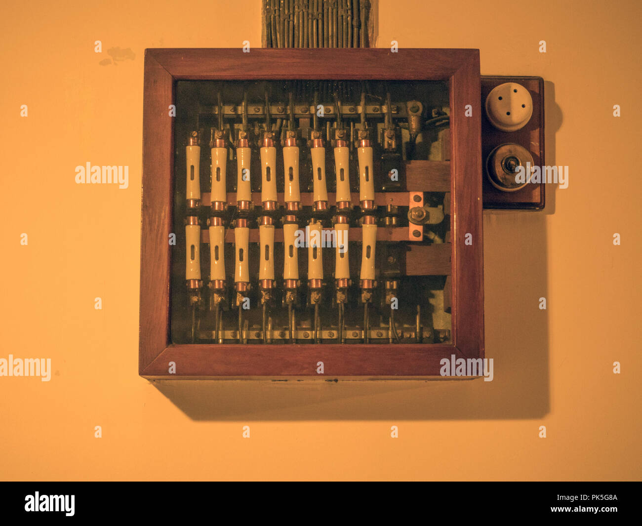 Swimming Pool Fuse Box Wiring Library Victorian Style Ceramic Stock Image