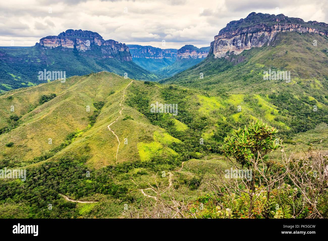 Chapada Diamantina National Park in Bahia state, Brazil - Stock Image