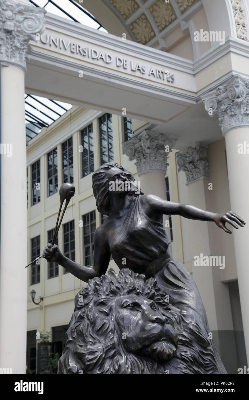 The University of the Arts.Universidad de las Artes in Guayaquil Ecuador - Stock Image