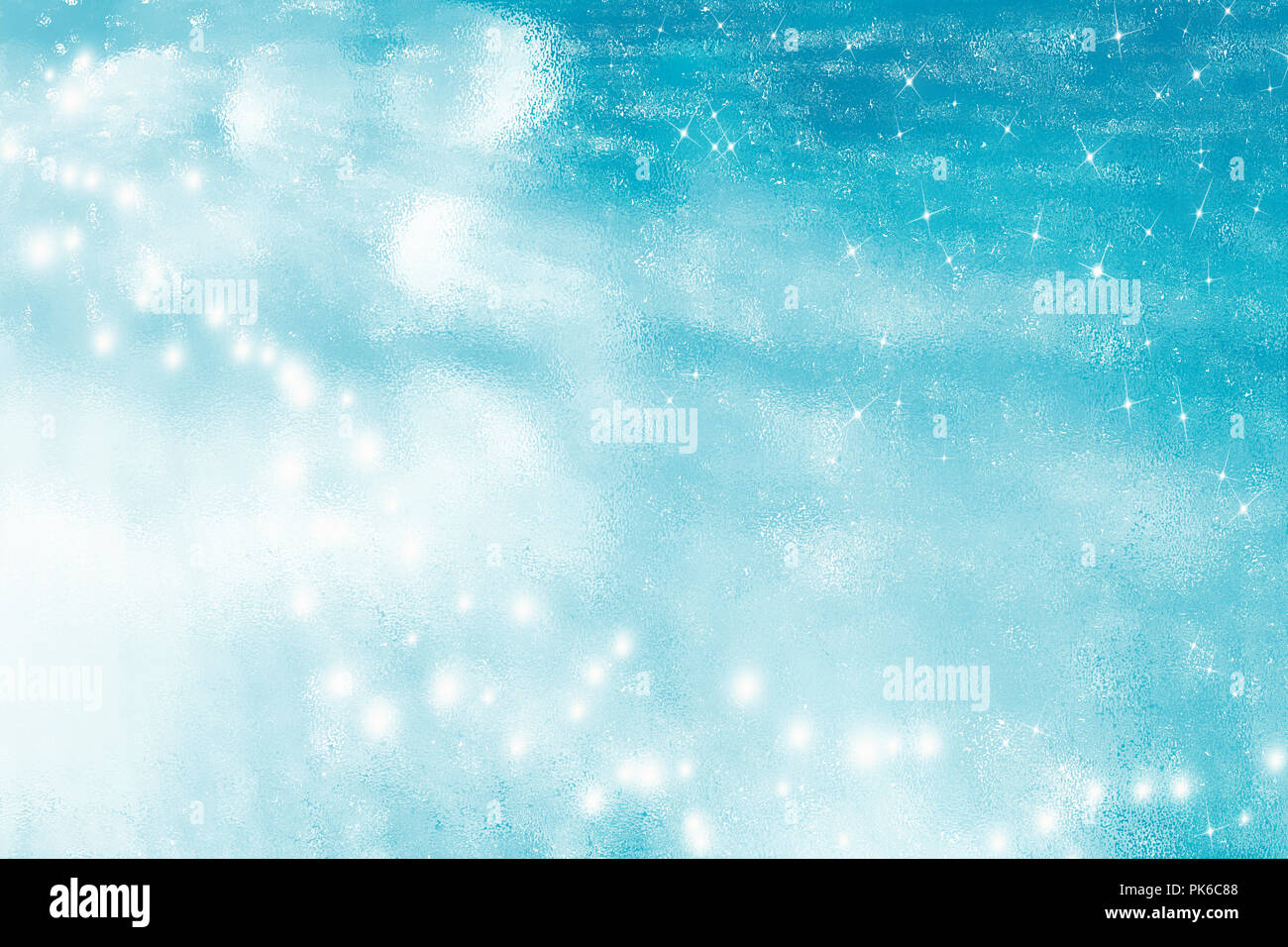Beautiful Christmas Background.Abstract Sparkling Turquoise Background Beautiful Christmas
