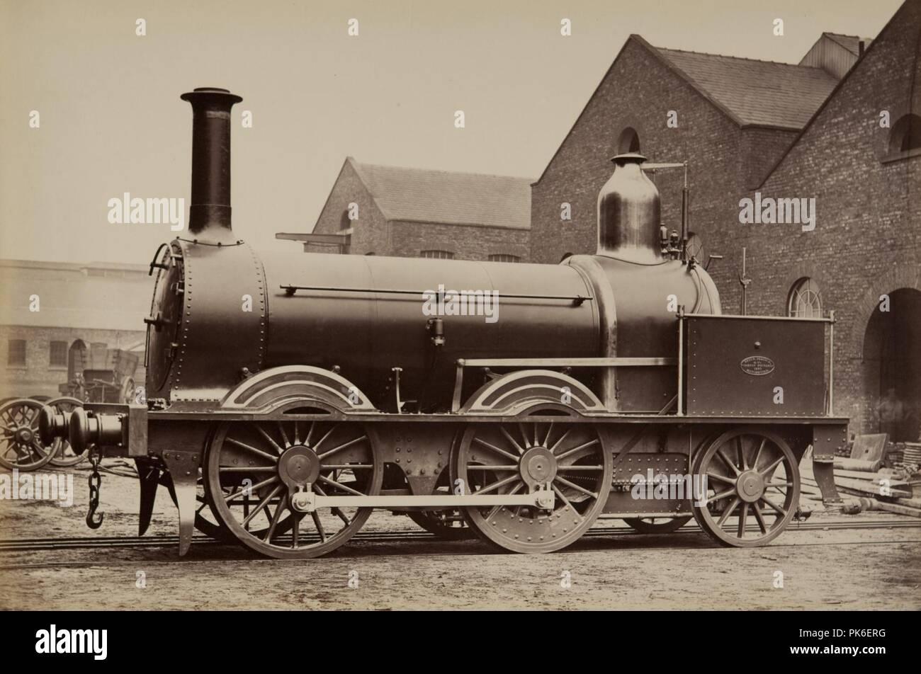 Beyer Peacock - Madras Railway No 425. - Stock Image