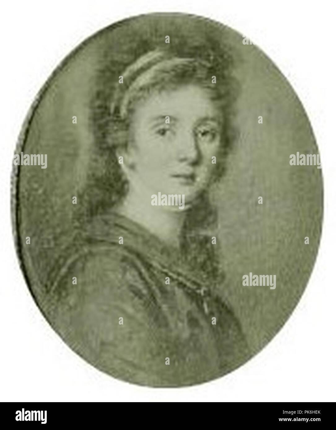 Benedikte Sievers. - Stock Image