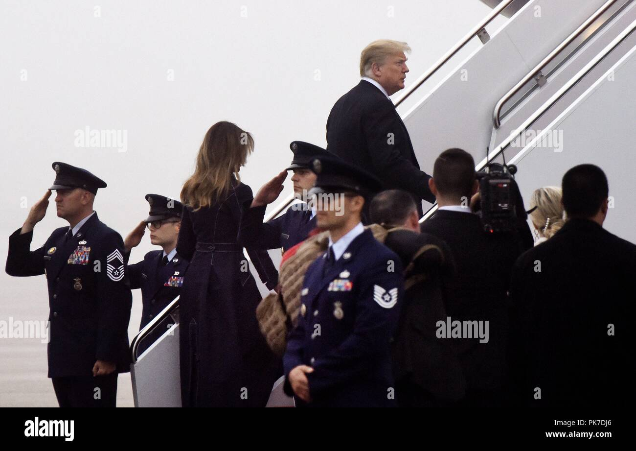 5e65d562315bf United States President Donald J. Trump and First Lady Melania Trump ...