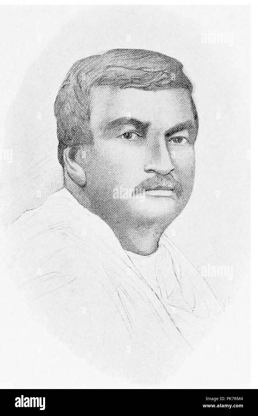 Bhagaban Chandra Bose. - Stock Image