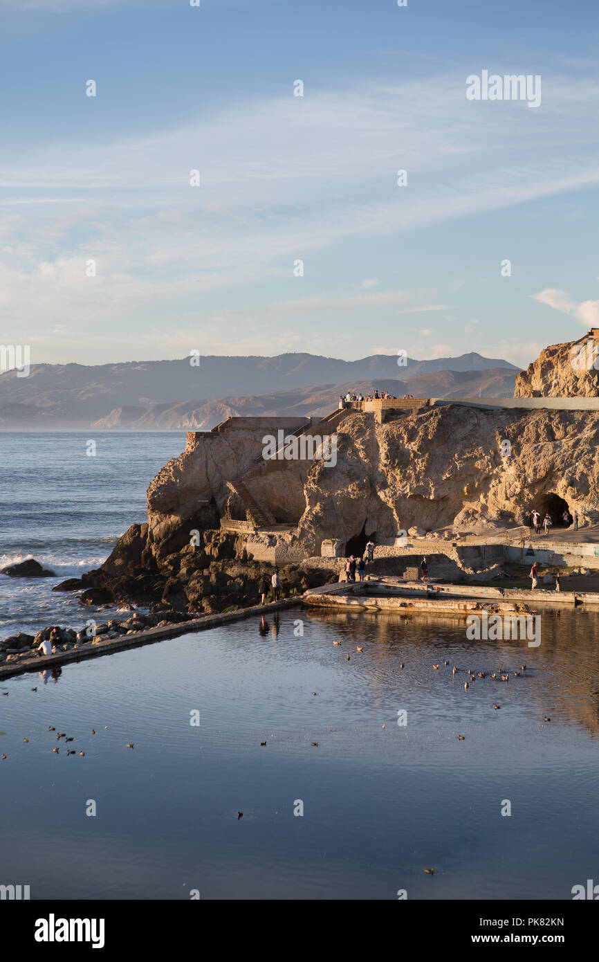 Sutro Baths - Stock Image