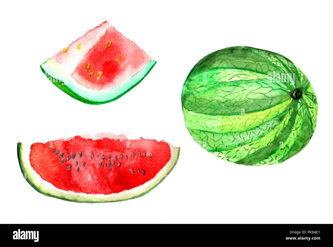 Easy Draw Watermelon Www Topsimages Com