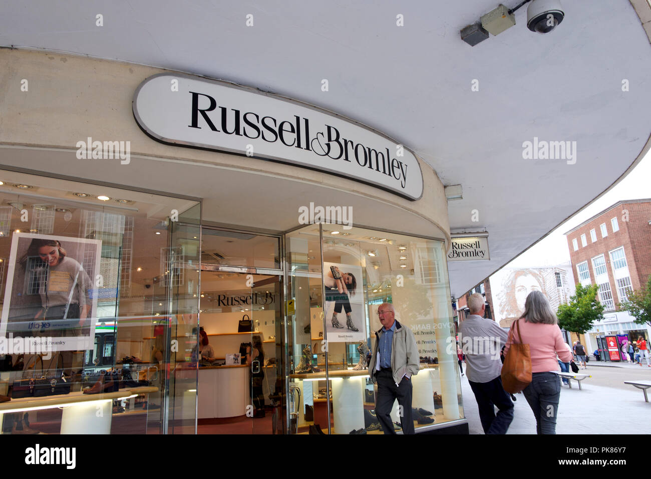 Russell & Bromley store - Stock Image