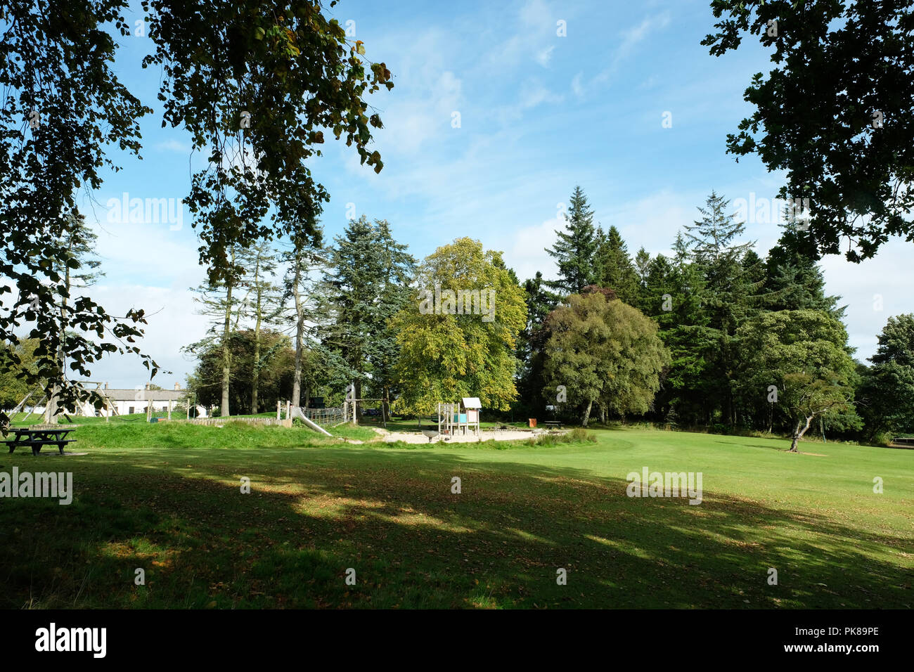 Polkemmet country park West Lothian - Stock Image