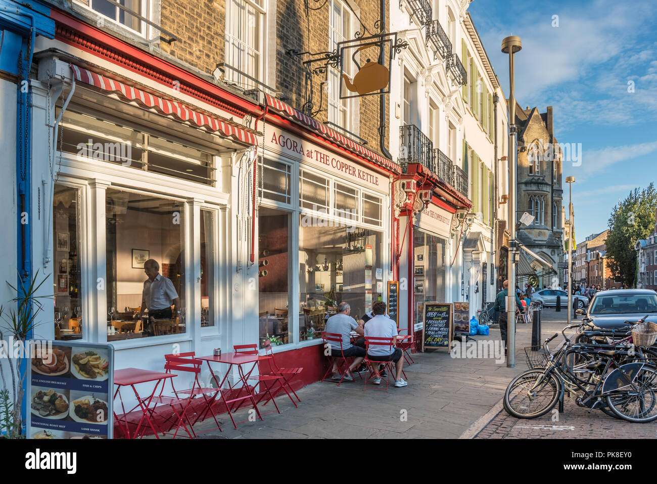 King's Parade in Cambridge - Stock Image