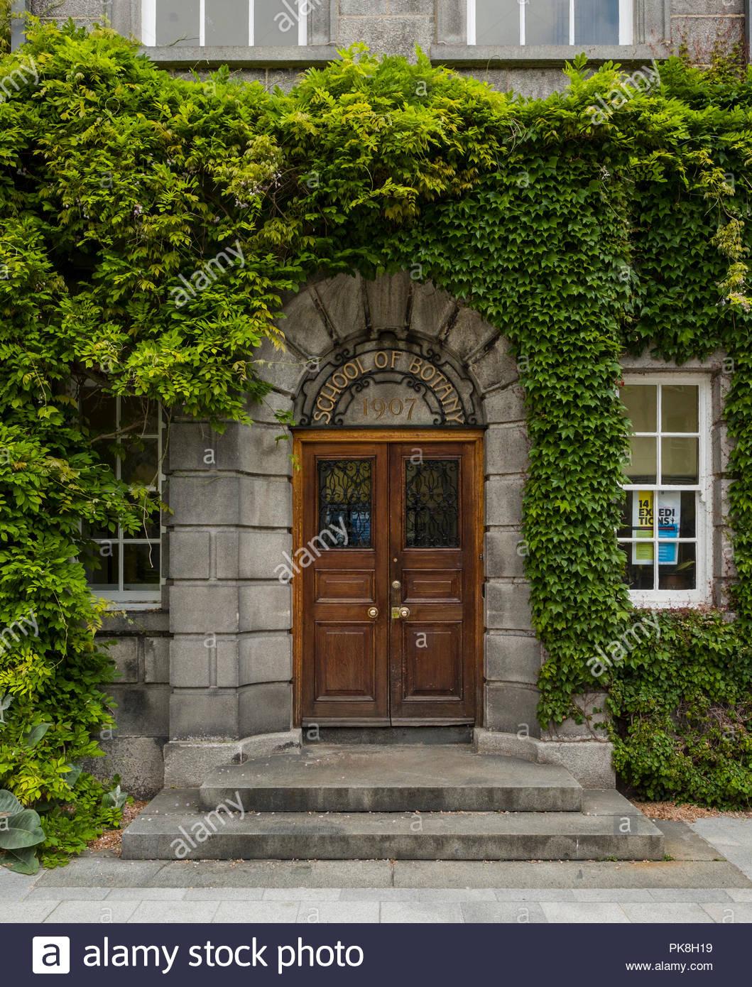 School of Botany, Trinity College, Dublin, Leinster, Ireland - Stock Image