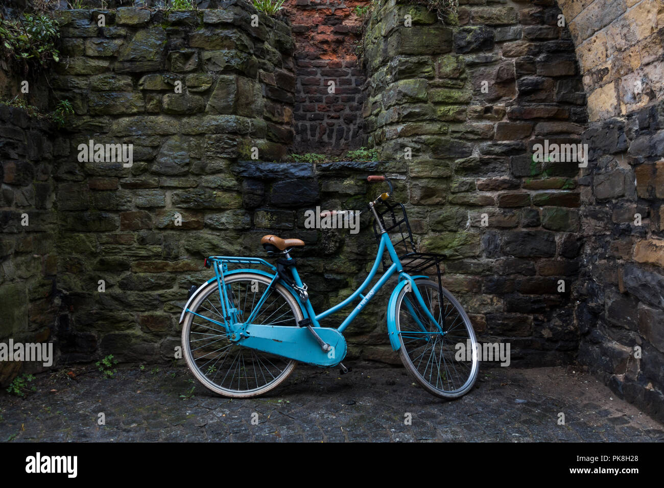 Bicycle at Maastricht, Netherlands - Stock Image