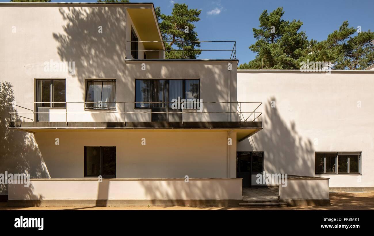 Masters House The Bauhaus Building Dessau Germany 2018