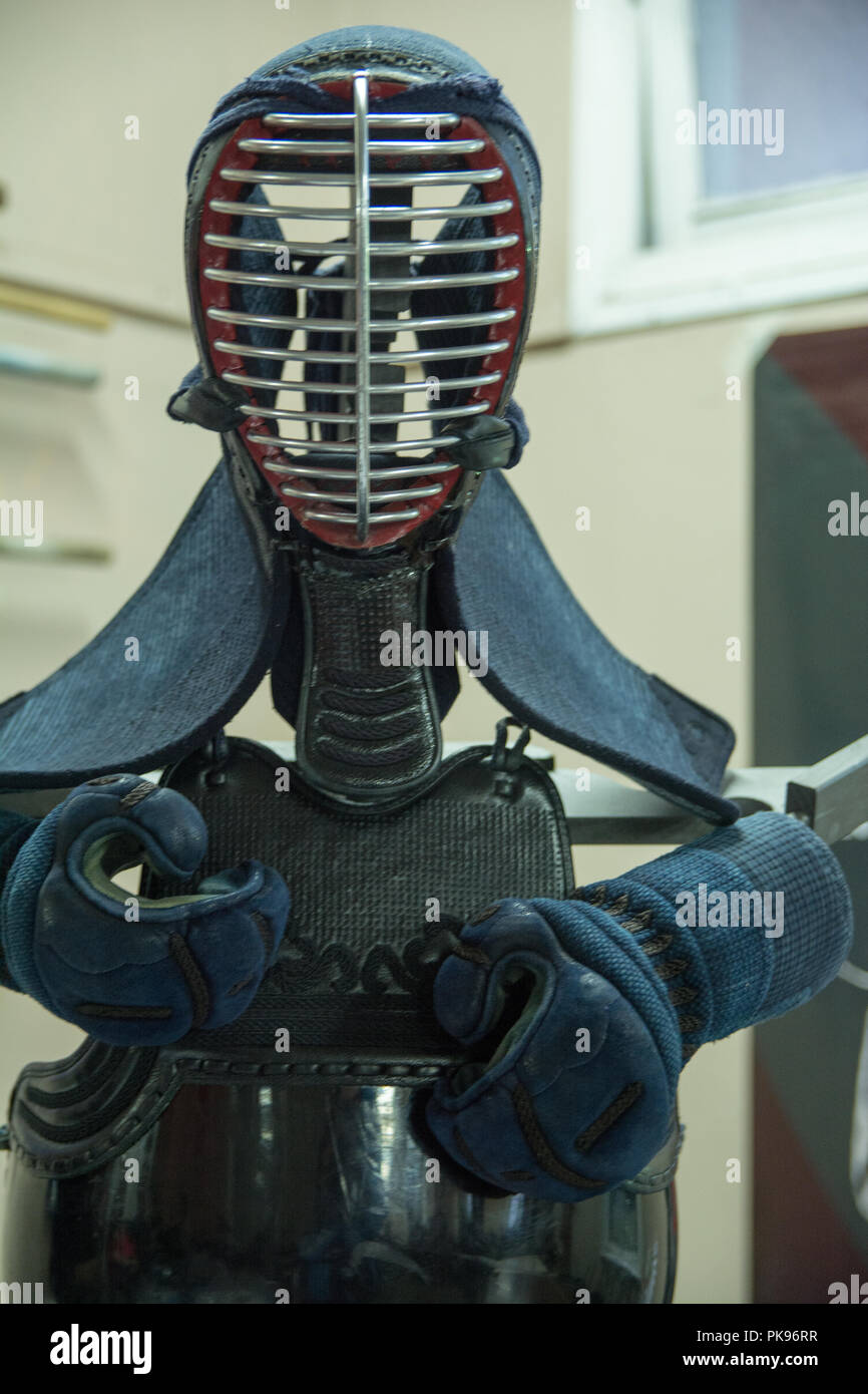 kendo armour - Stock Image