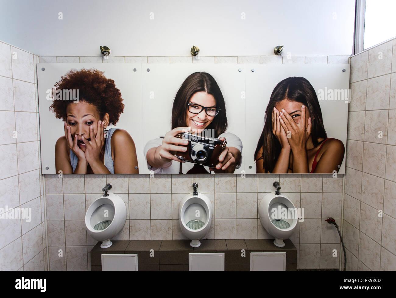 Public Toilet in Bielsko-Biała,Poland - Stock Image