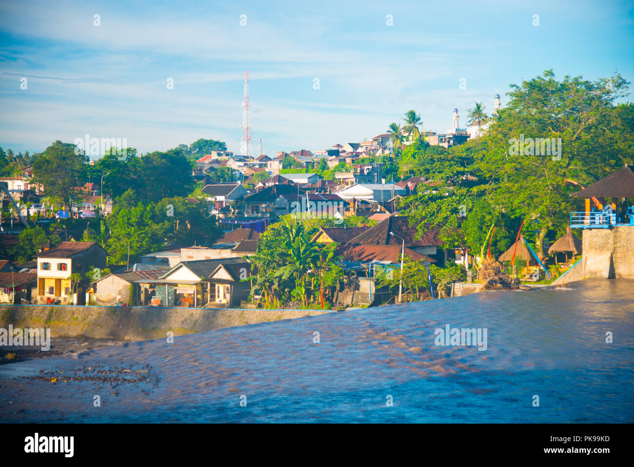 Residential Area Of The Bali Island Indonesia Bali Is An