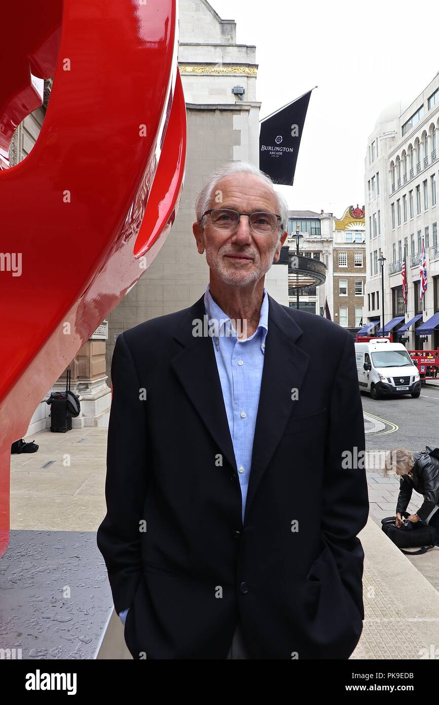 Renzo Piano .The art Of Making Buildings12 September 2018 Royal Academy Of Arts Stock Photo