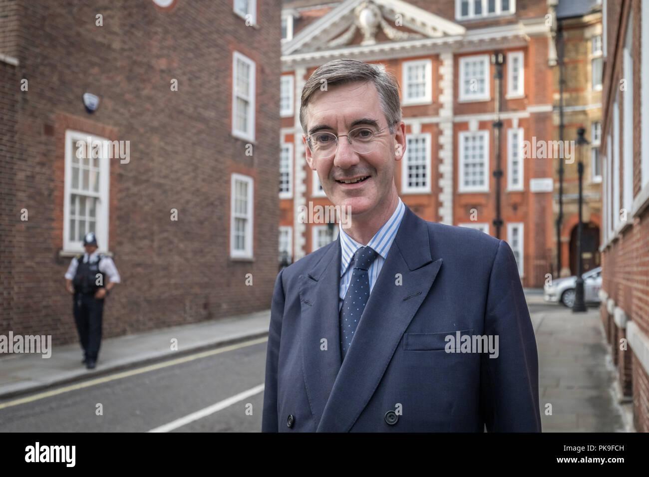 Jacob Rees-Mogg, Converative MP - Stock Image