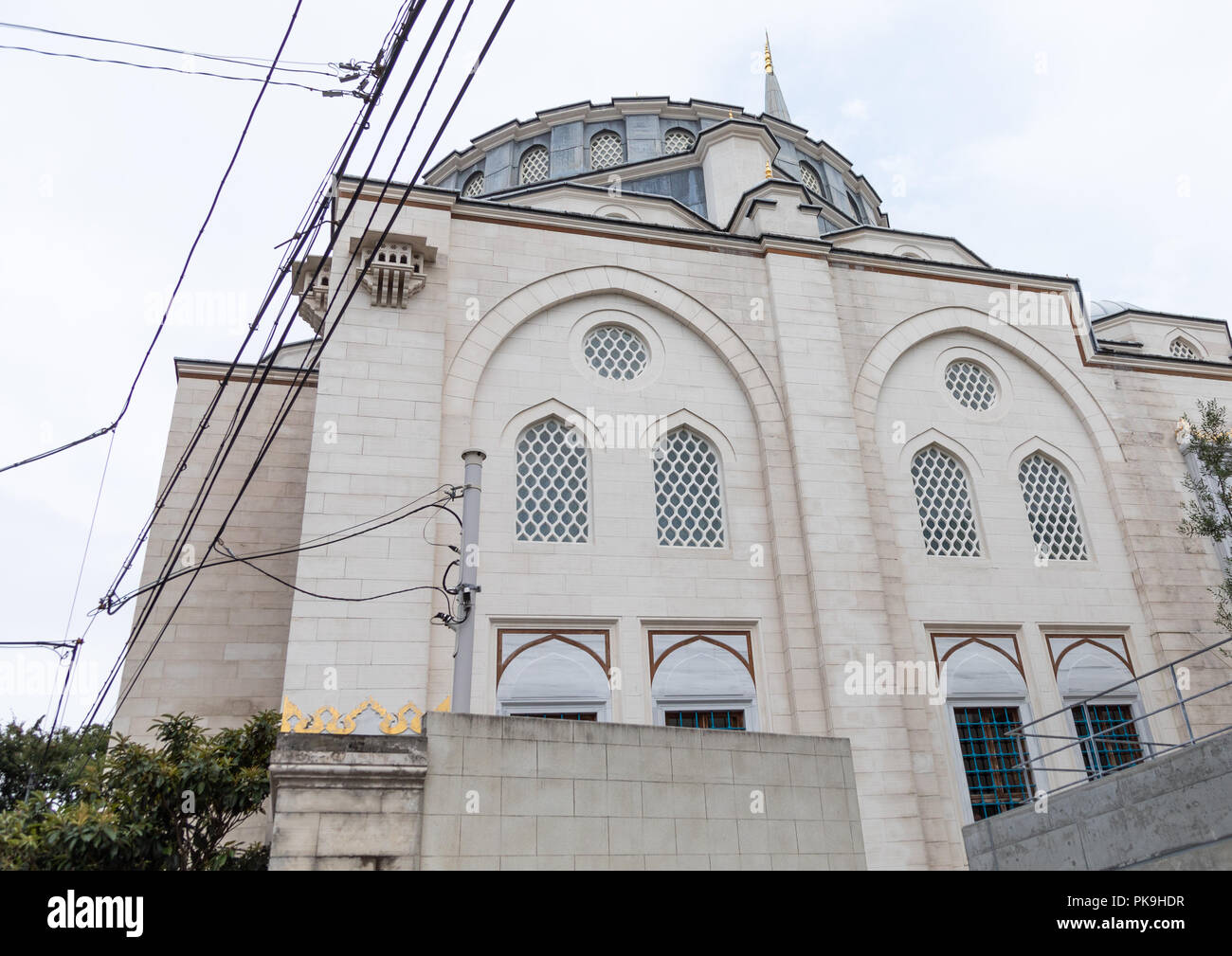 Oyama-cho Tokyo Camii mosque, Kanto region, Tokyo, Japan - Stock Image