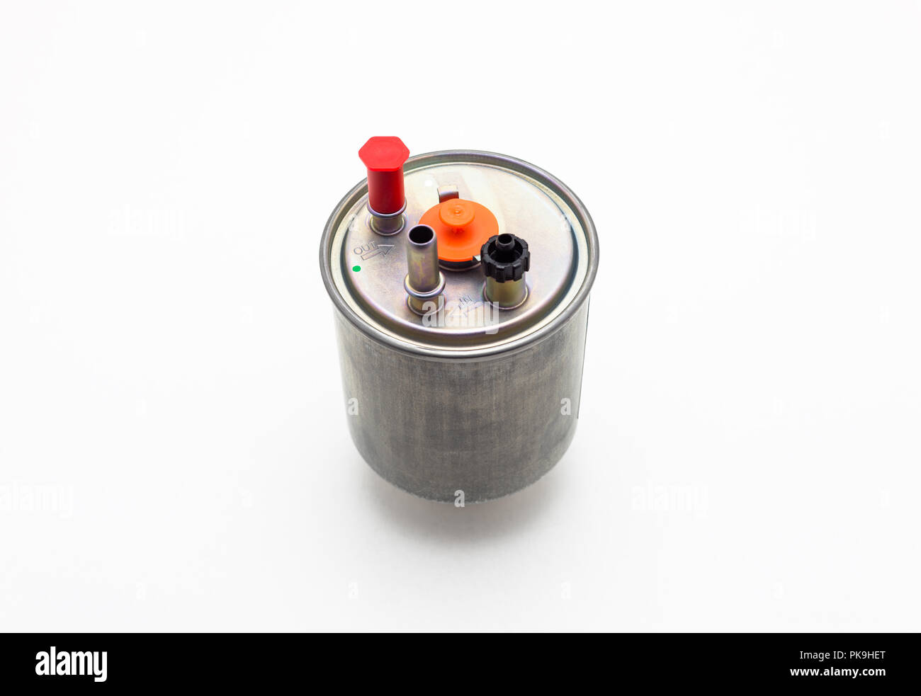 Diesel Fuel Filter Stock Photos Images Engine Car For Isolated On A White Background With Clipping Path