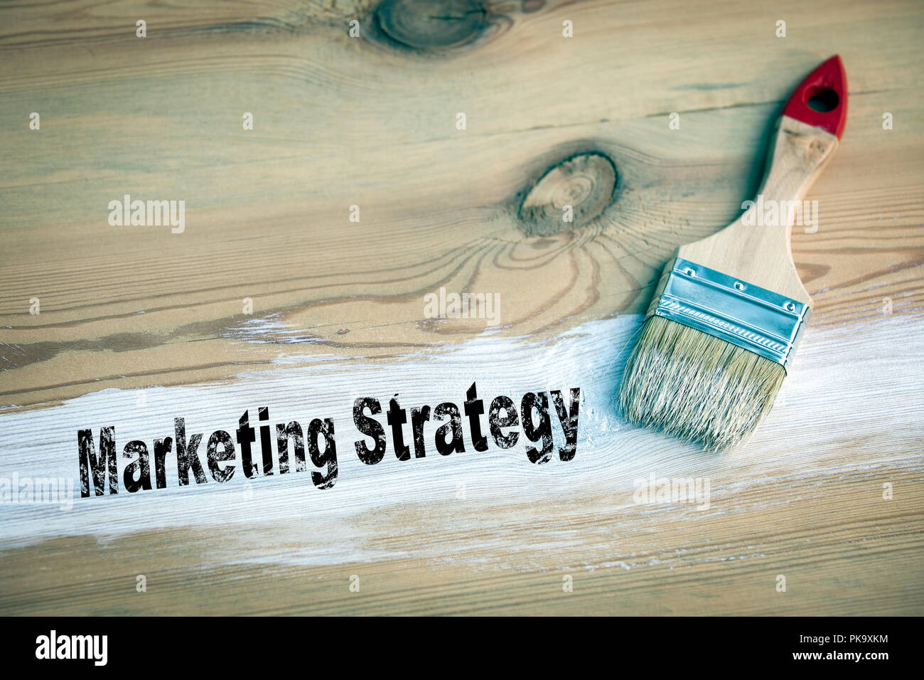 Marketing Strategy Business concept - Stock Image