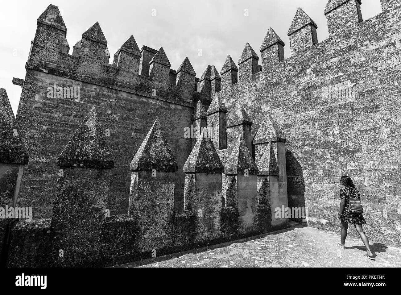 Game Of Thrones Castle Black And White Stock Photos Images Alamy