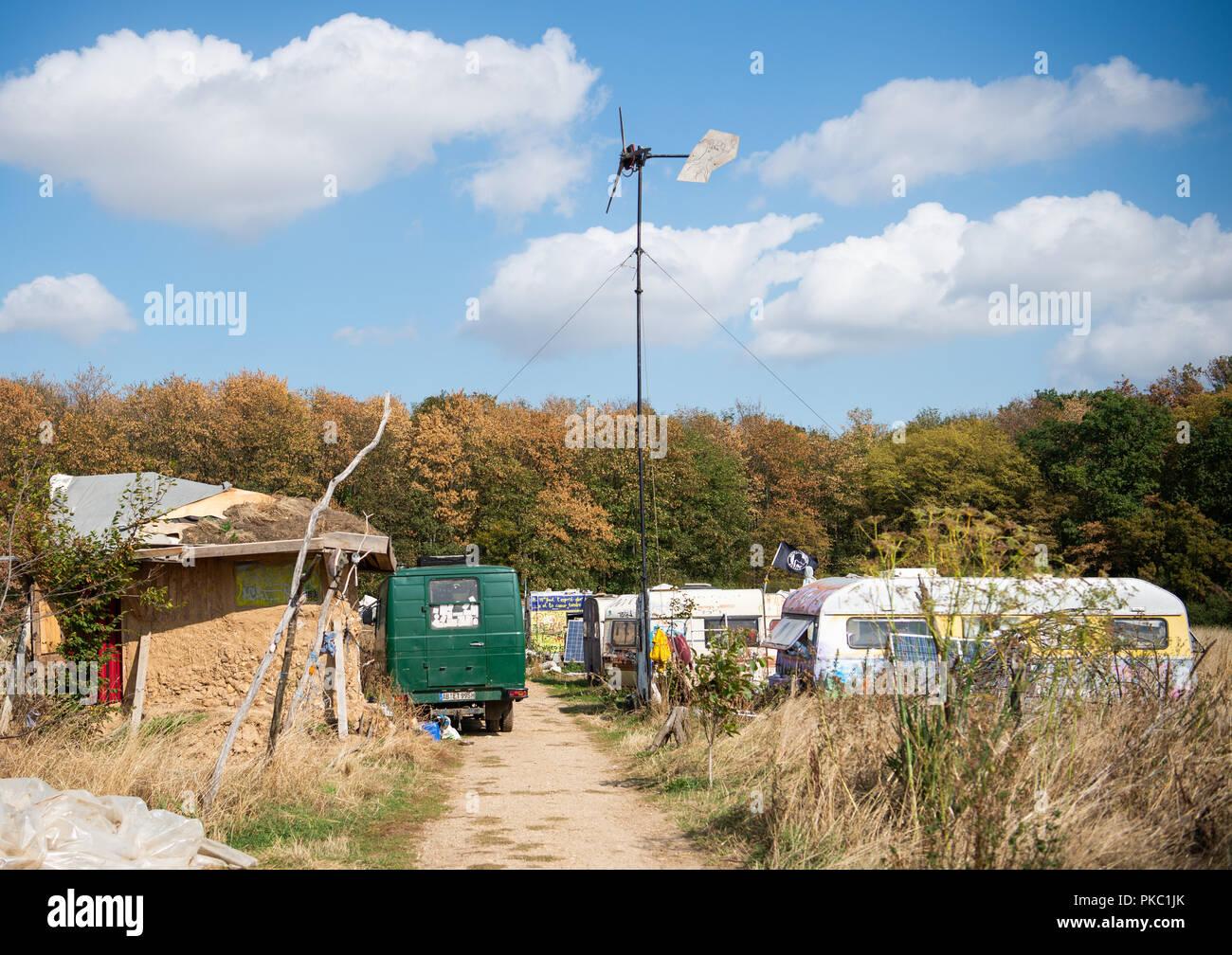Rhine meadow camps
