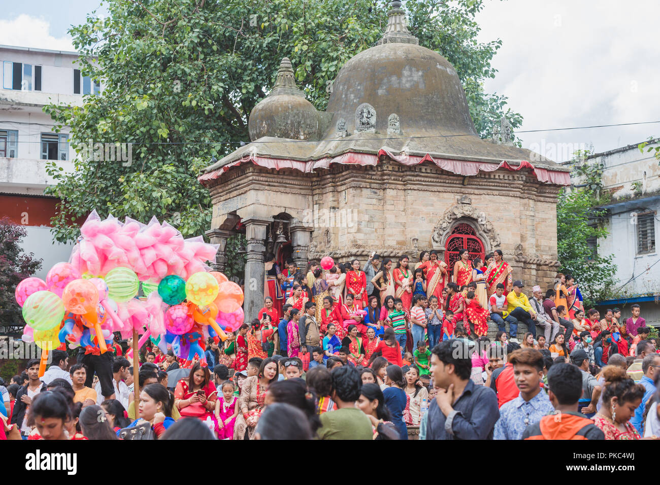Beautiful Nepali Girl Kathmandu Nepal Stock Photos