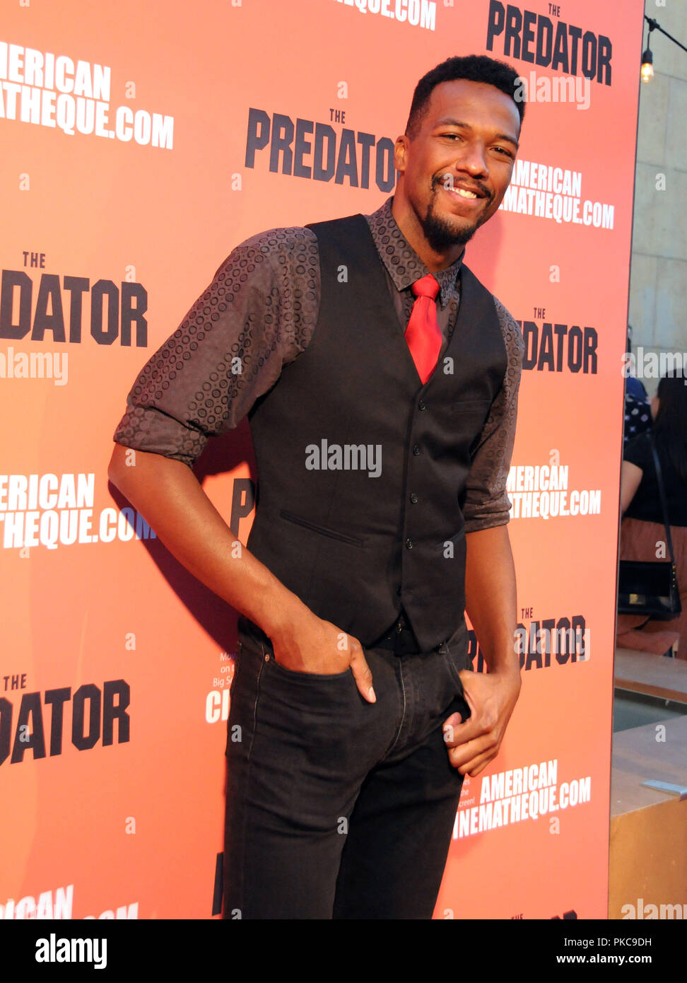 Hollywood, California, USA. 12th Sept 2018. Actor/stuntman Brian A. Prince attends 20th Century Fox's 'The Predator' Special Screening Event on September 12, 2018 at The Egyptian Theatre in Hollywood, California. Photo by Barry King/Alamy Live News - Stock Image