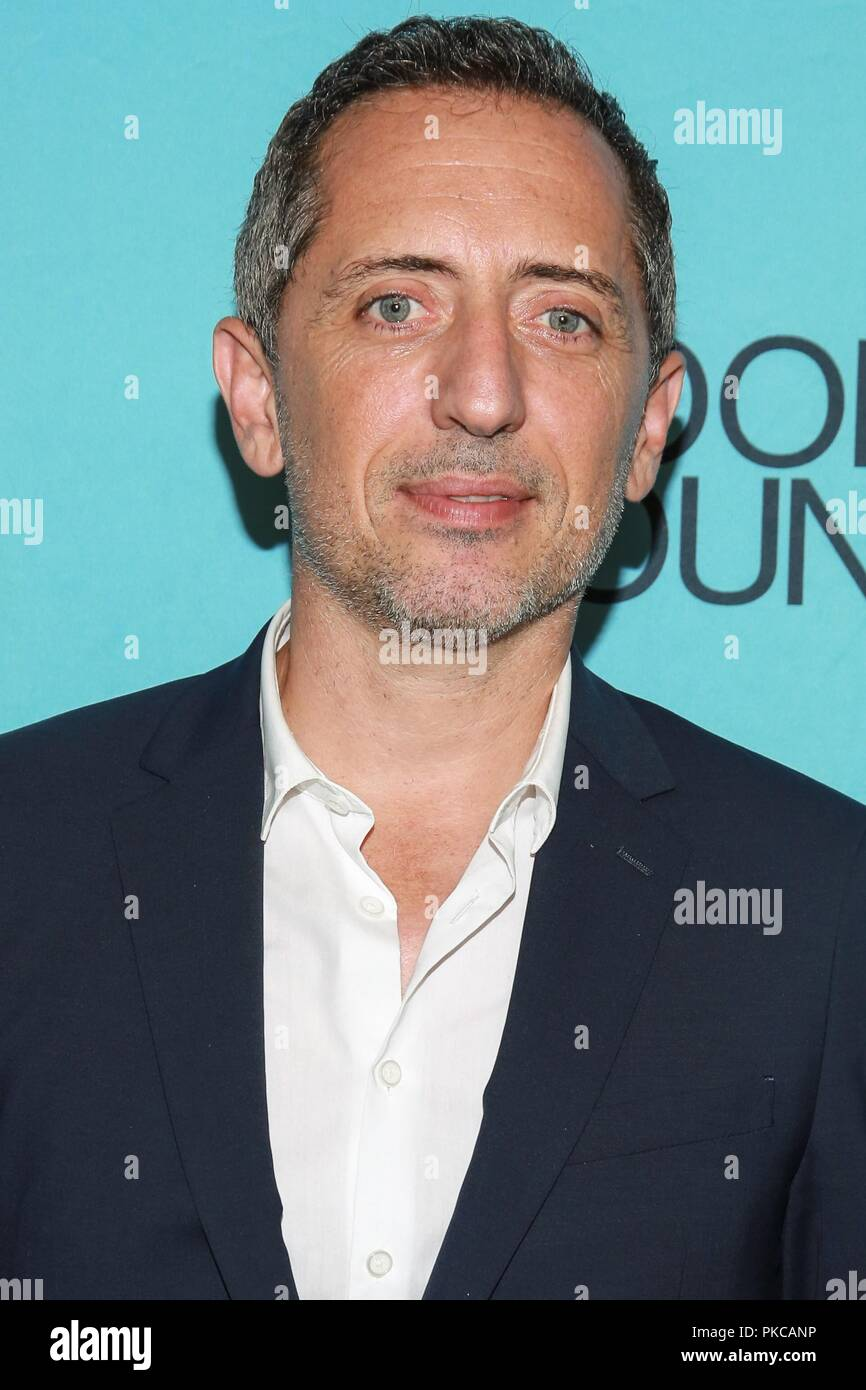 new york ny usa 12th sep 2018 gad elmaleh at arrivals for 2018 good foundation an evening. Black Bedroom Furniture Sets. Home Design Ideas