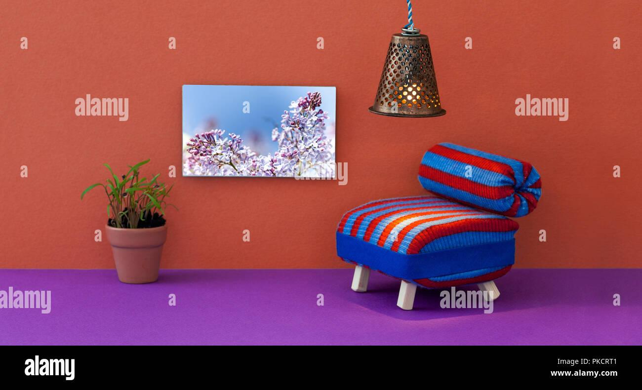 Marvelous Minimalist Living Room Furniture Interior Striped Blue Red Andrewgaddart Wooden Chair Designs For Living Room Andrewgaddartcom