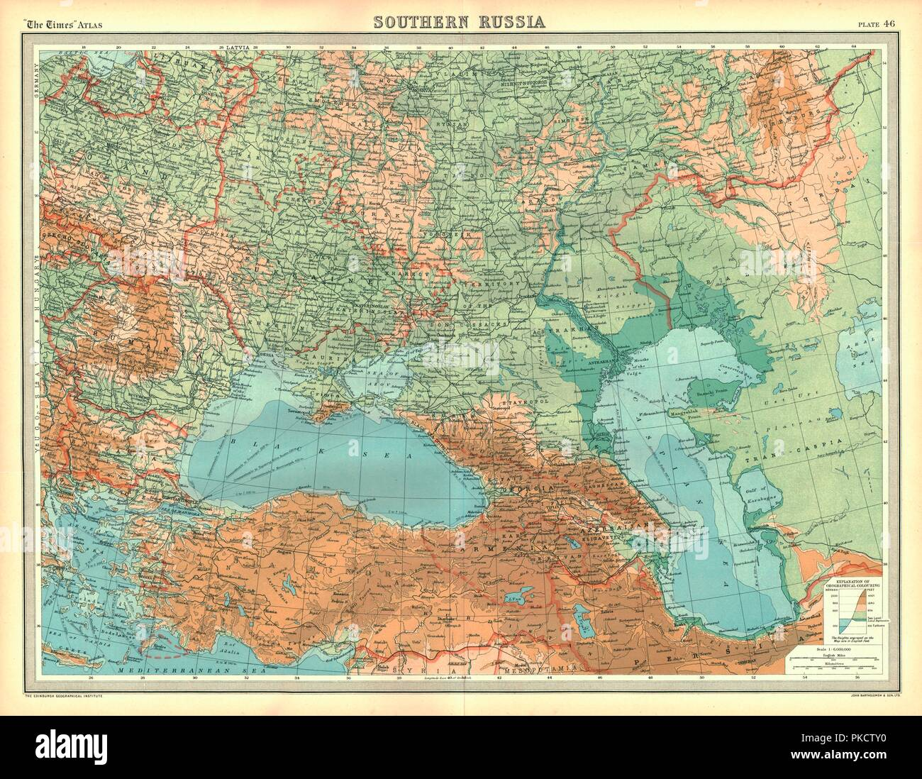 Russia Map Stock Photos & Russia Map Stock Images - Alamy